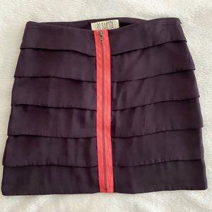 BB Dakota Tiered Mini Skirt